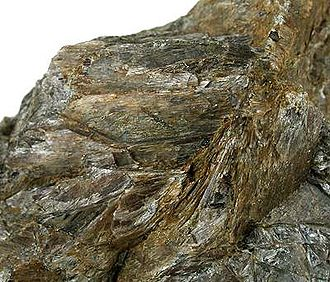 Enstatite - Bronzite variety from Bare Hills, Baltimore County, Maryland, USA (size: 9.6×7.5×4.9 cm)