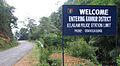 Entereing Kelakam Police statoin limit-board at Palchuram.jpg