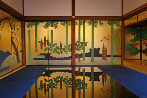 Fusuma - Kin-busuma (golden fusuma)