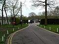Entrance, Commons Wood Caravan Club Site - geograph.org.uk - 1257138.jpg