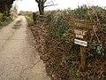 Entrance to Waffapool Farm - geograph.org.uk - 1186550.jpg