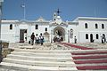 Entry to the area of pilgrimage basilica, Chora of Tinos 090791.jpg
