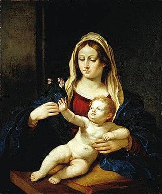 Ercole Gennari - Madonna and Child by Ercole Gennari, private collection