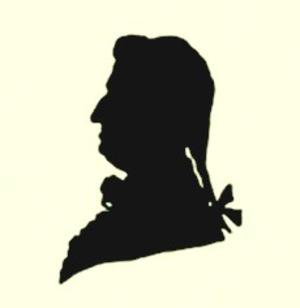 Erik Tulindberg - Silhouette of Eric Tulindberg by unknown artist
