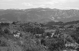 Erzelj - Erzelj in 1958 (hamlets of Miški, Volki, and Mesesneli)