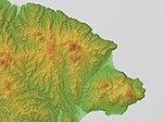 Esan Volcano & Esan-Maruyama Volcano, SRTM-1.jpg