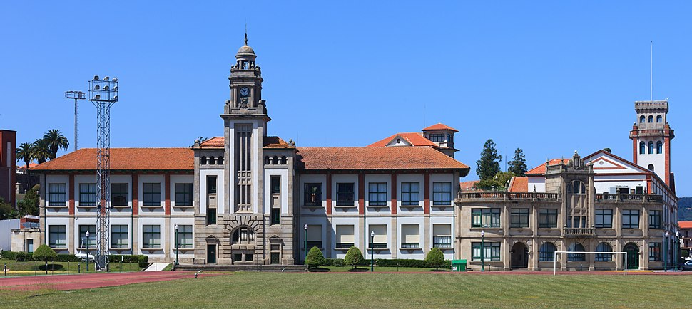 Escola naval militar de Marín. Galiza