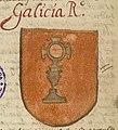 Escudo da Galiza em Nobiliario M-S (séc. XVI-XVII).jpg