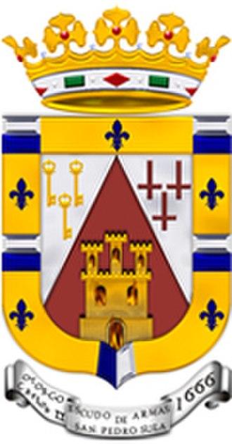 San Pedro Sula - Image: Escudo msps