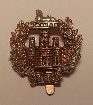 Essex Regiment - Cap badge of the Essex Regiment.