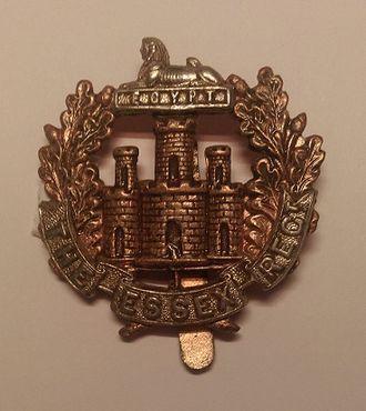 Essex Regiment - Cap badge of the Essex Regiment.