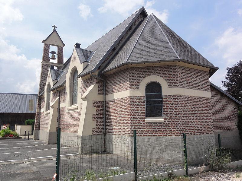 Essigny-le-Petit (Aisne) église