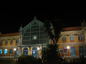 Almería - The former train station