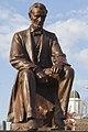 Estatua de Lincoln, Wabash, Indiana, Estados Unidos, 2012-11-12, DD 01 (cropped).jpg