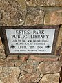 Estes park public library masonic cornerstone.jpg