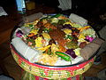 Ethiopian Cuisine - All Vegeterian variety among thousands.jpg