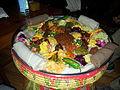 Ethiopian Cuisine - All Vegeterian variety among thousands.jpg