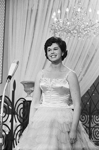 Eleonore Schwarz - Eleonore Schwarz at the Eurovision Song Contest 1962