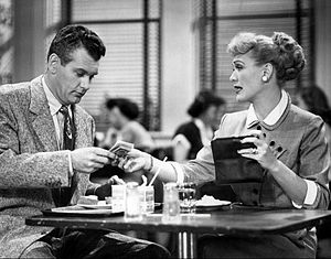 Our Miss Brooks - Mr. Boynton (Robert Rockwell) borrows money from Connie.
