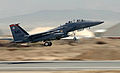 F-15E Strike Eagle lifts off from Bagram Air Base for CAS mission.jpg