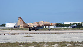 F-5N of VFC-111 at NAS Key West in November 2014.JPG