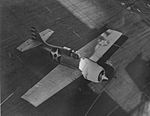 F4F-3 of VF-6 taking off from USS Enterprise (CV-6) 1942.jpg