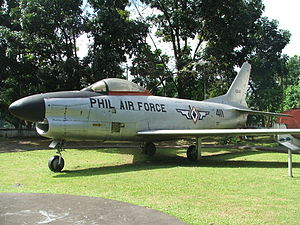 Philippine Air Force - F-86D of the Philippine Air Force