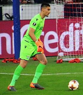 Thomas Strakosha Albanian footballer