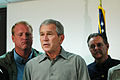 FEMA - 35777 - President Bush, Governor Culver and FEMA Administrator Paulison in Iowa.jpg