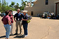 FEMA - 44175 - FEMA, and State Officials at Disaster Stageing Area in MS.jpg