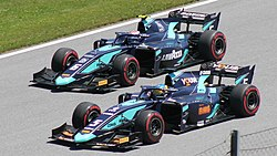FIA F2 Austria 2019 beide DAMS.jpg