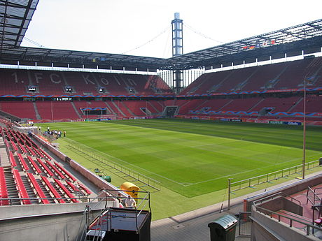 RheinEnergieStadion is the stadium of 1. Bundesliga club 1. FC Köln.
