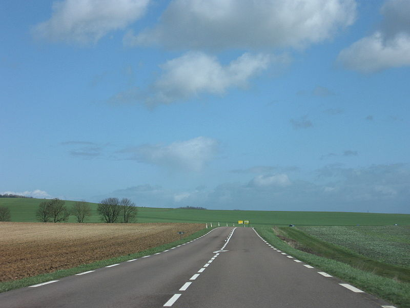 French road, near Sweepes