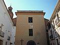 Façana, parcial, de l'església de sant Miquel de Soneja.JPG