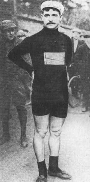 1909 in sports - François Faber of Luxembourg won the 1909 Tour de France