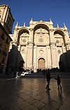 Facade of the Cathedral of Granada (2).JPG