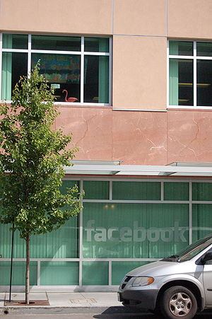 The Facebook headquarters in Palo Alto, CA (fr...