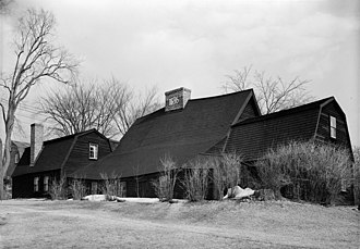 History of Dedham, Massachusetts, 1635–1792 - The Fairbanks House is the oldest timber frame house in North America.