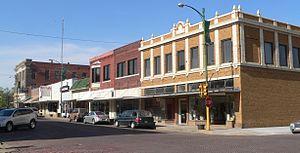 National Register of Historic Places listings in Richardson County, Nebraska - Image: Falls City, Nebraska Stone from 16 face NE 1