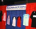 FanimeCon booth, Anime Expo 2003-07.jpg