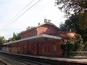 Feneryolu railway station - The old Feneryolu station in September 2005.