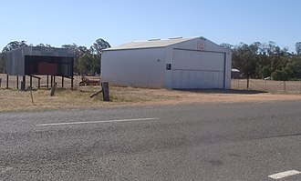 Fentons Creek, Victoria - The CFA shed