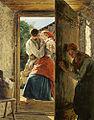 Ferdinand Georg Waldmüller - amoureux surpris (le baiser).jpg