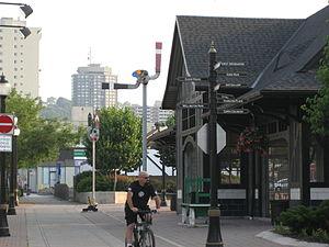 Ferguson Avenue (Hamilton, Ontario) - Ferguson Station, at King Street East
