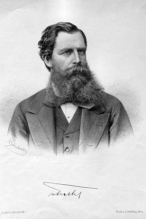 Heinrich von Ferstel - Heinrich von Ferstel (circa 1880)