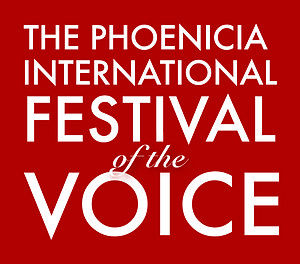 Phoenicia International Festival of the Voice - Official logo created in 2011