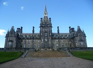 David Bryce - Fettes College main building