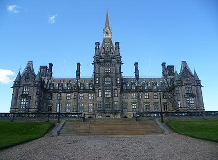 Fettes College is one of Scotland's most famous independent schools, particularly since the 1997 Labour Government led by former pupil, Tony Blair. Fettes College south front, Edinburgh.JPG