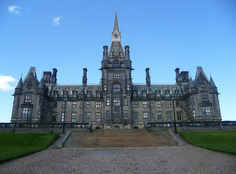 Fettes College south front, Edinburgh