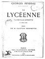 Feydeau - La Lycéenne.pdf